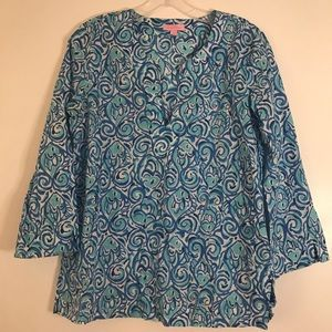 Lilly Pulitzer tunic top